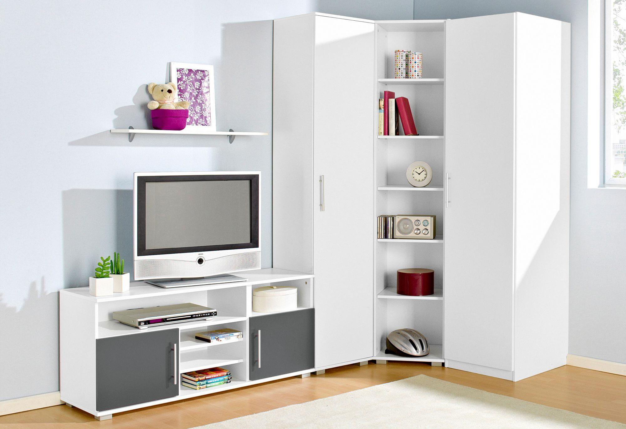 Kleiderschrank g nstig online kaufen beim schwab versand for Jugendzimmer steffi saegerauh 7 tlg