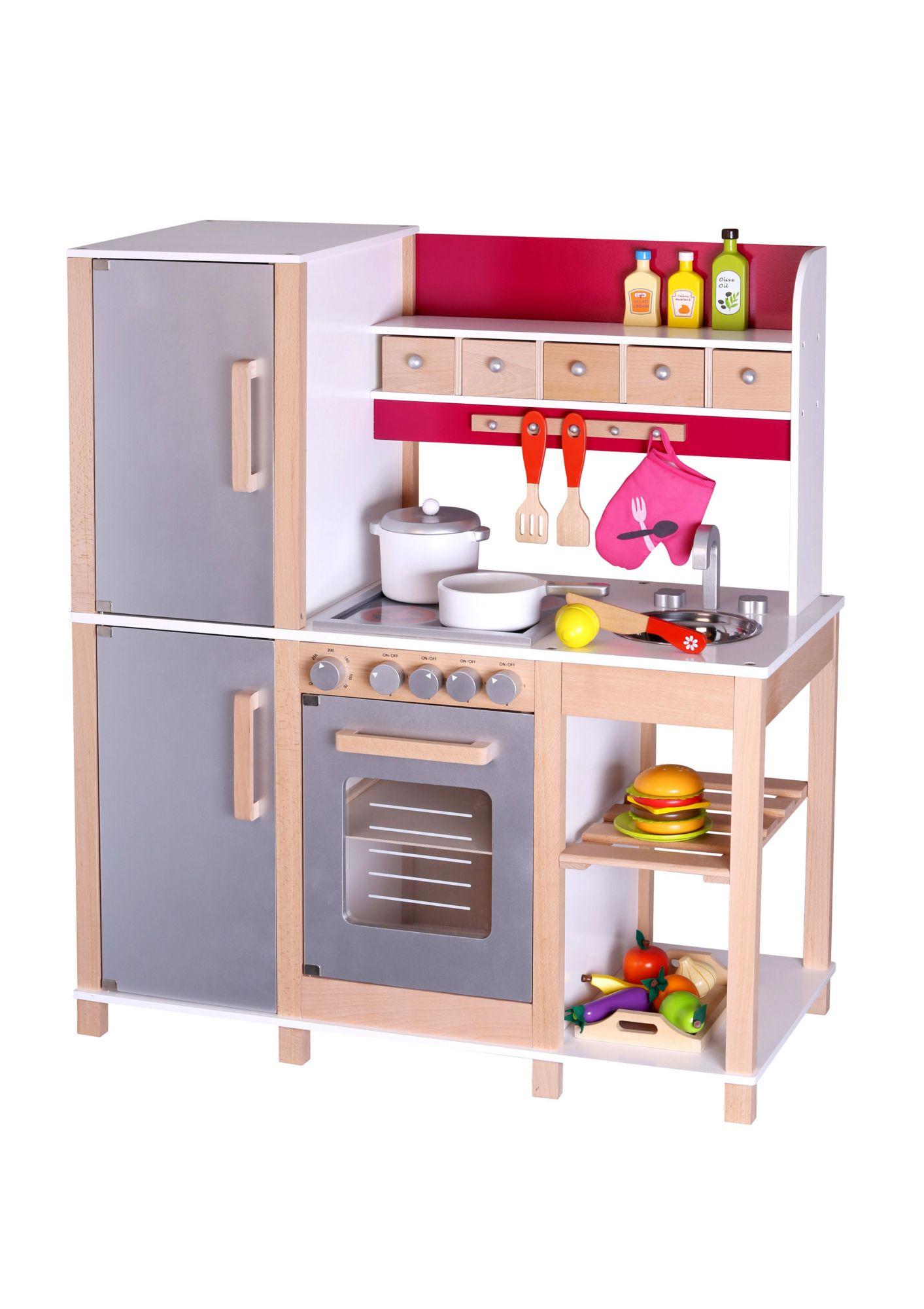 Kinderspielkuche aus holz spielkuche gross sun for Spielküche sun