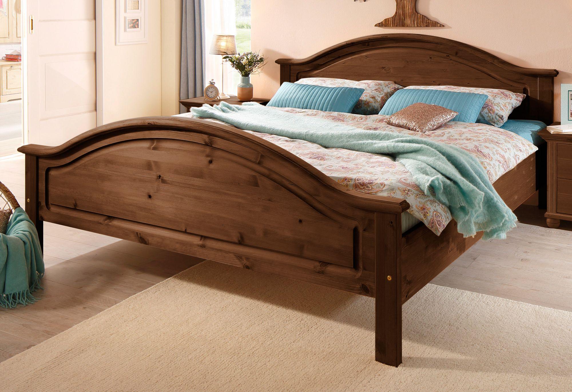 kolonial bett g nstig online kaufen beim schwab versand. Black Bedroom Furniture Sets. Home Design Ideas
