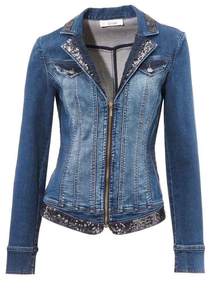 jeansjacke damen g nstig online kaufen beim schwab versand