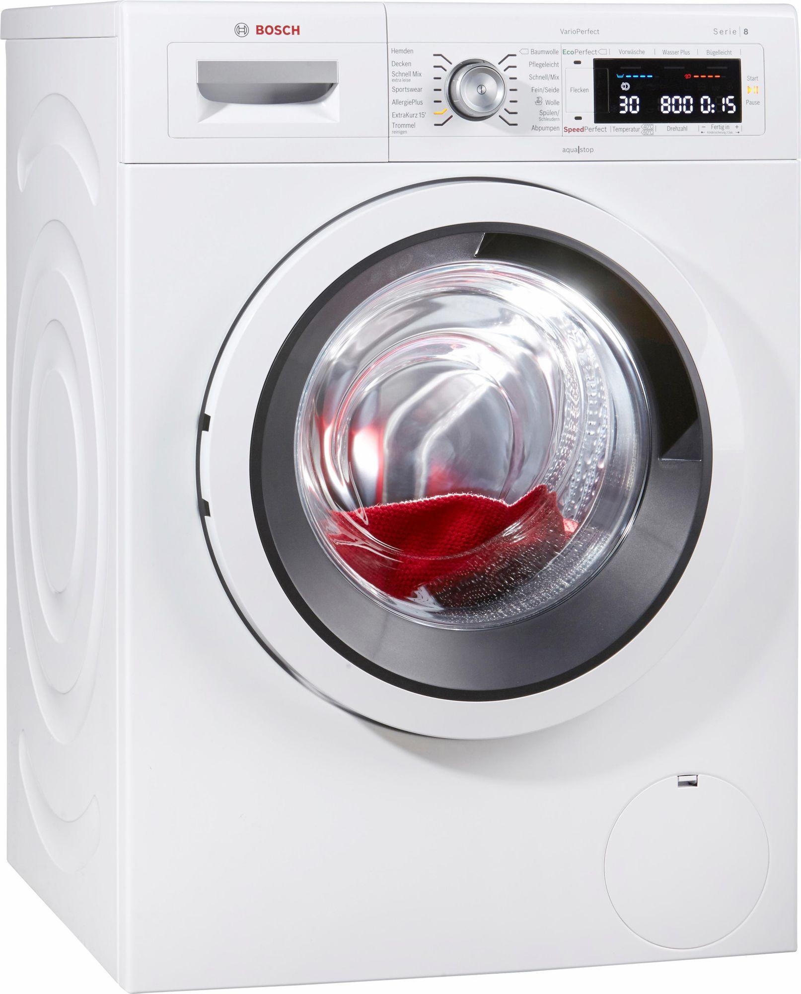 bosch waschmaschine g nstig online kaufen beim schwab versand. Black Bedroom Furniture Sets. Home Design Ideas