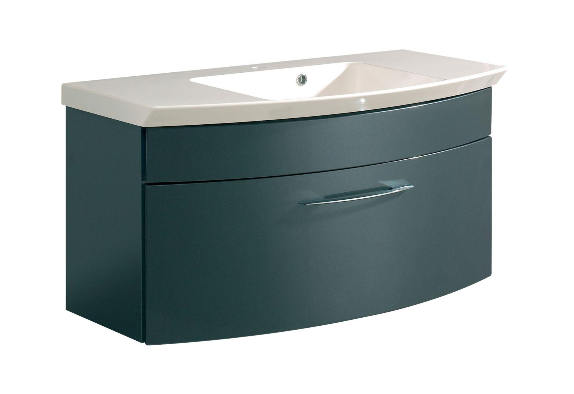 waschbeckenunterschrank schwarz g nstig online kaufen beim. Black Bedroom Furniture Sets. Home Design Ideas