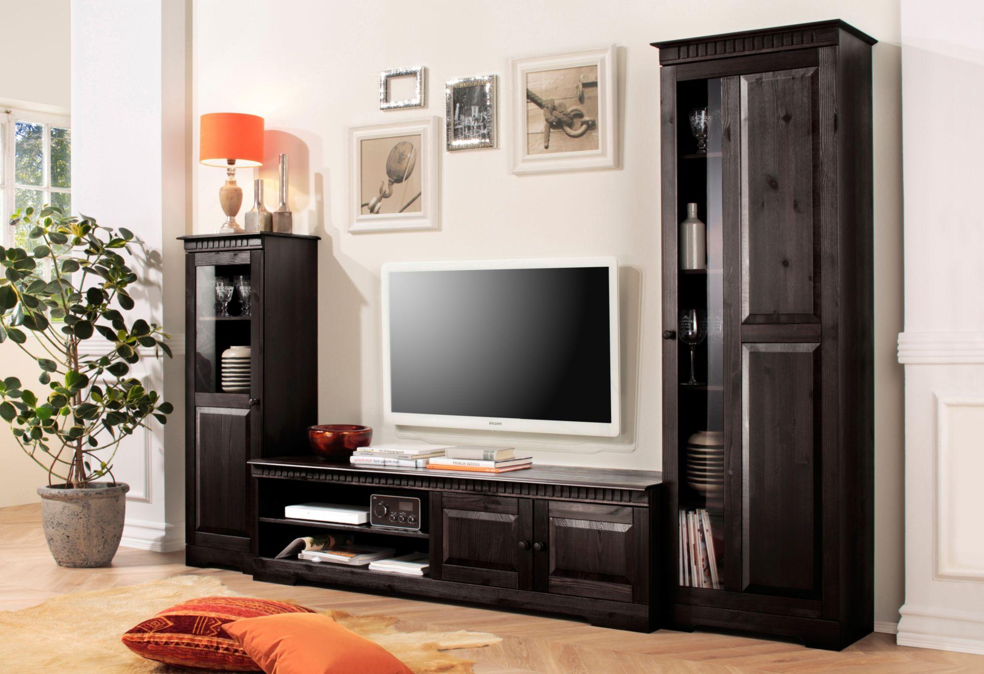 Wohnwand g nstig online kaufen beim schwab versand for Wohnwand 6 tlg home affaire breite 270 cm