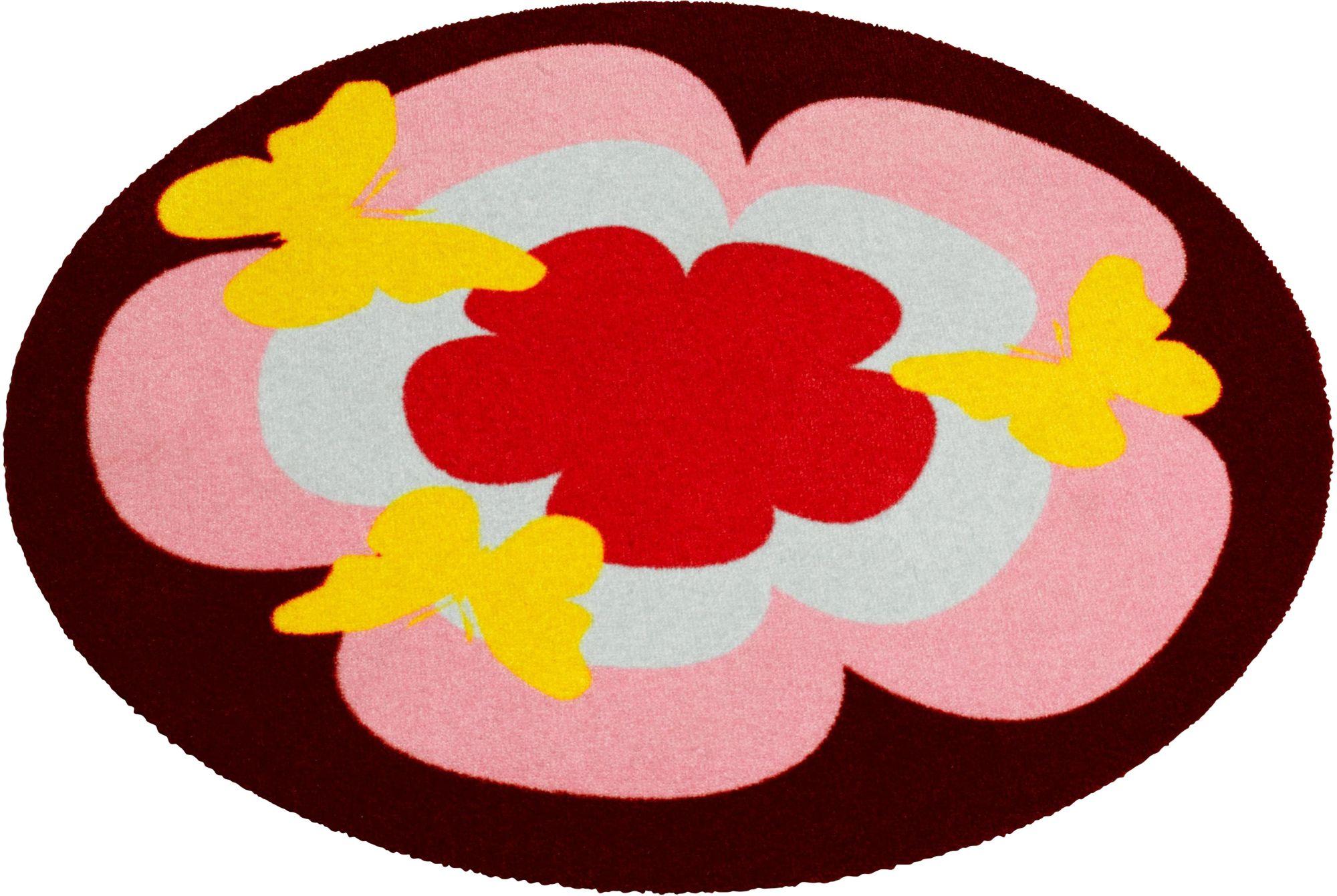 Teppich Blumenform günstig online kaufen beim Schwab Versand