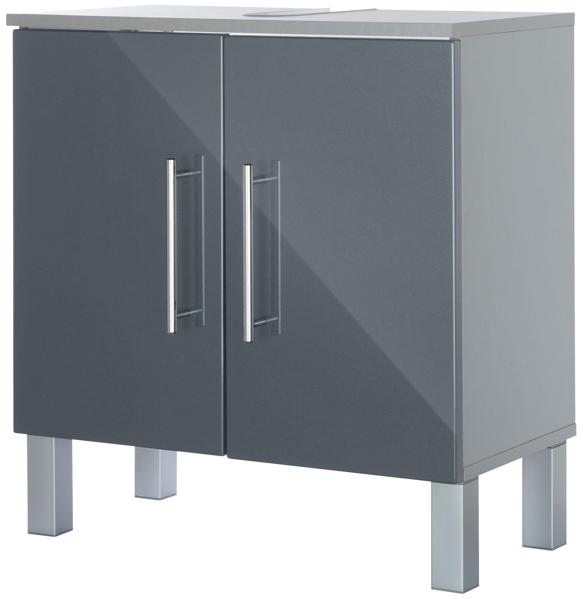 waschbeckenunterschrank anthrazit g nstig online kaufen beim schwab versand. Black Bedroom Furniture Sets. Home Design Ideas