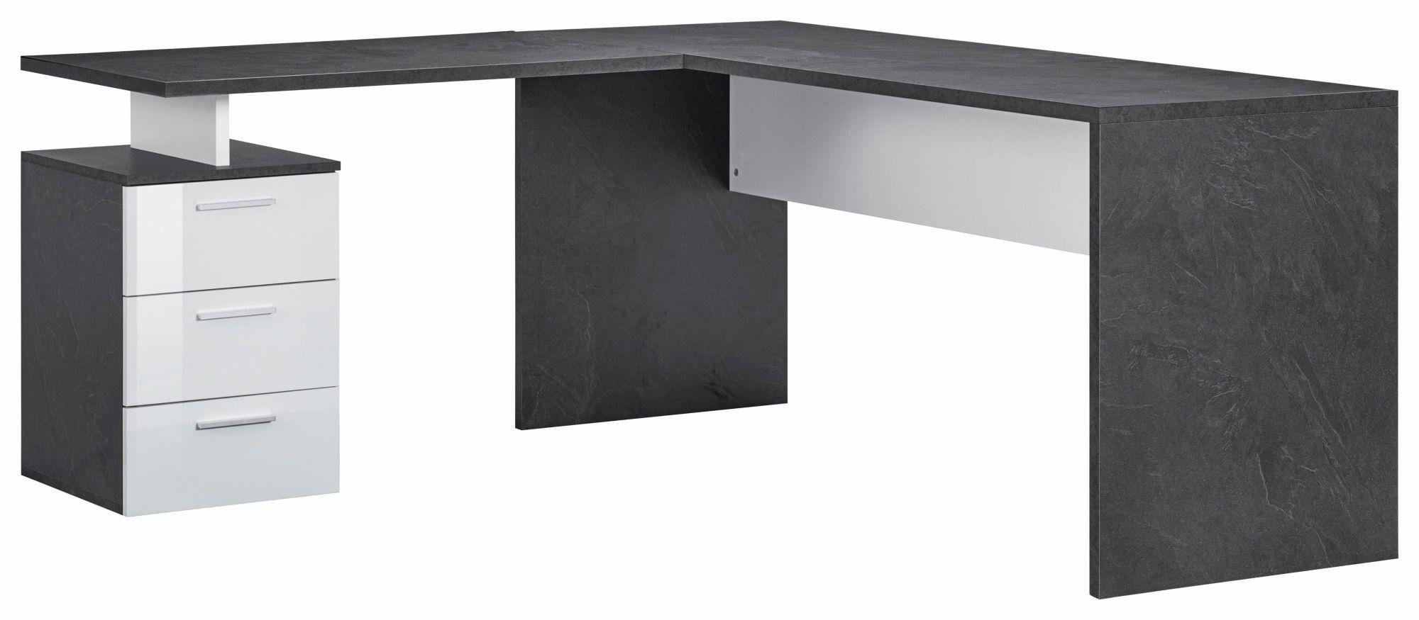 schreibtische eck g nstig online kaufen beim schwab versand. Black Bedroom Furniture Sets. Home Design Ideas