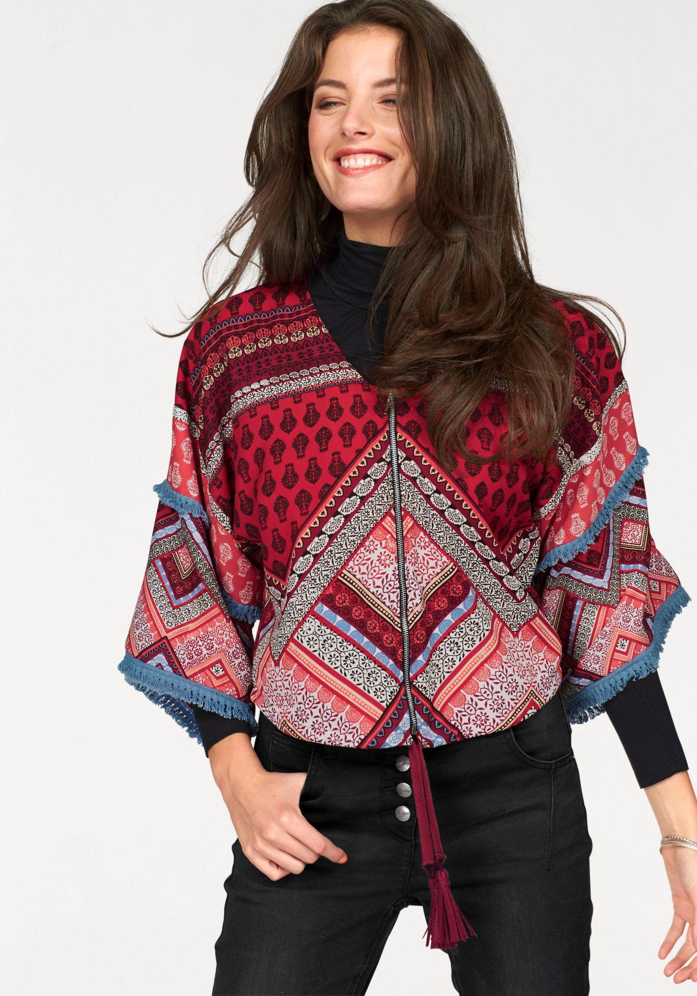 Kimono jacken im schwab online shop damen jacken - Kimono jacke damen ...