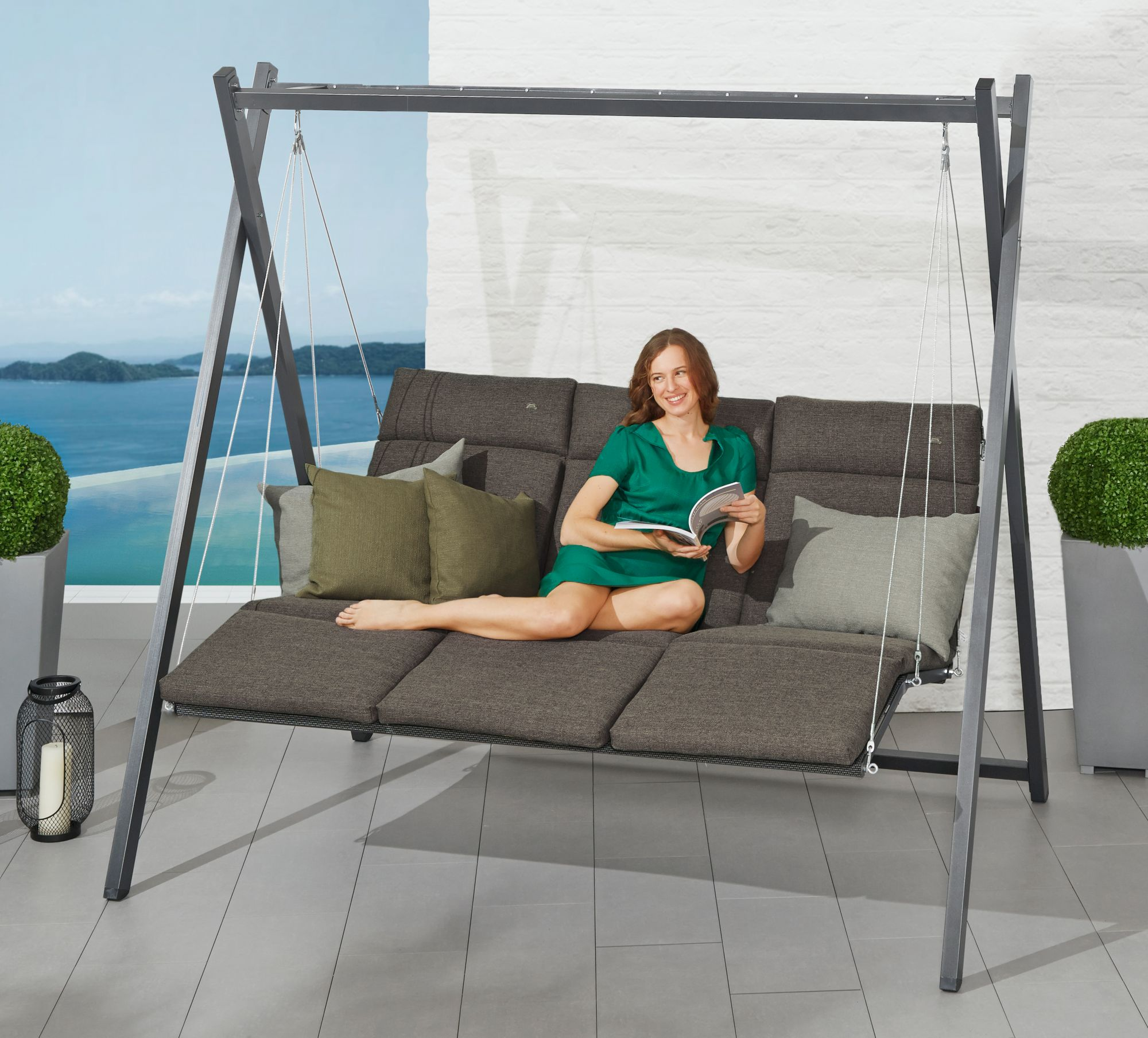 hollywoodschaukel g nstig online kaufen beim schwab versand. Black Bedroom Furniture Sets. Home Design Ideas