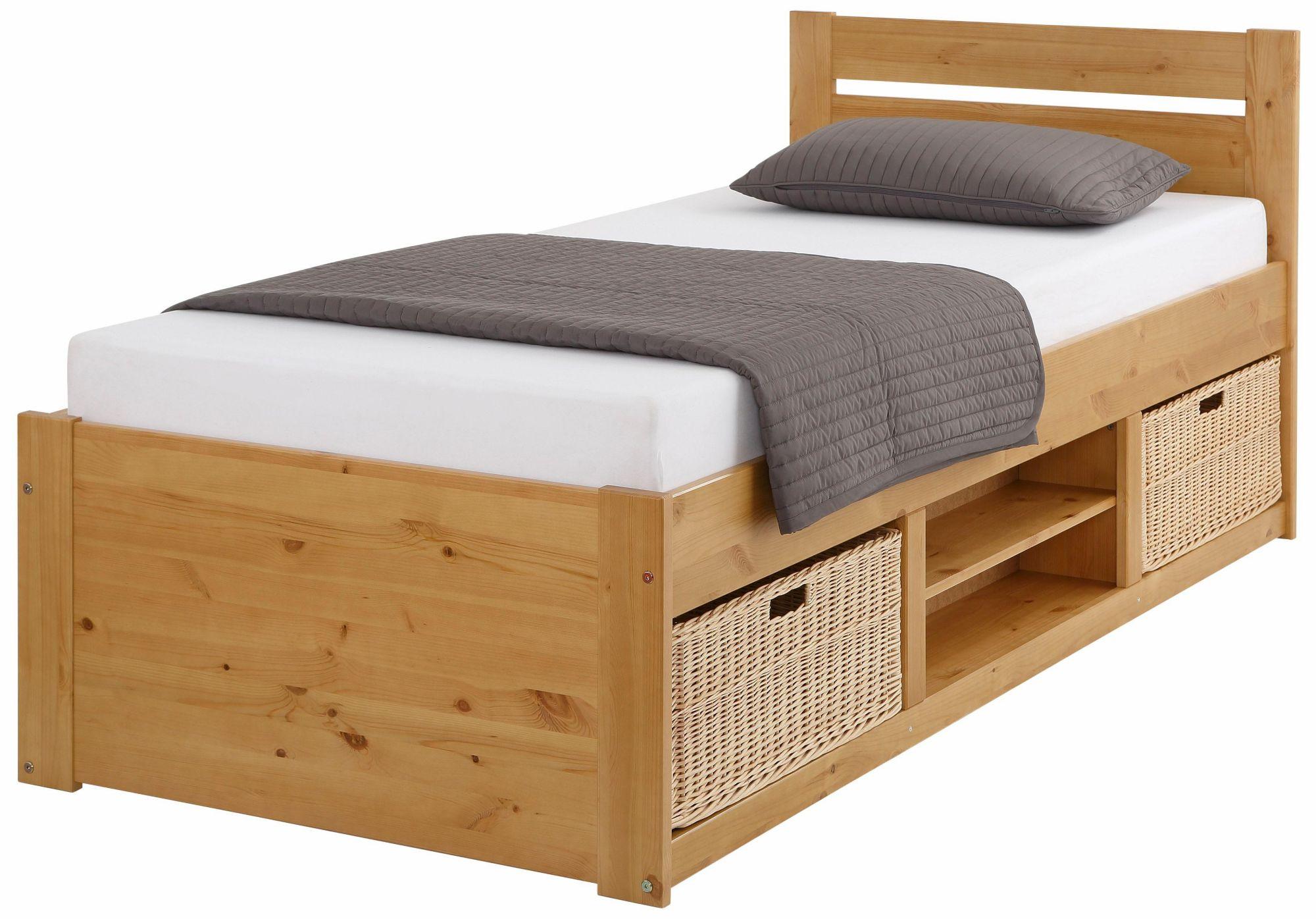 Bett home g nstig online kaufen beim schwab versand for Stauraum bett 100x200