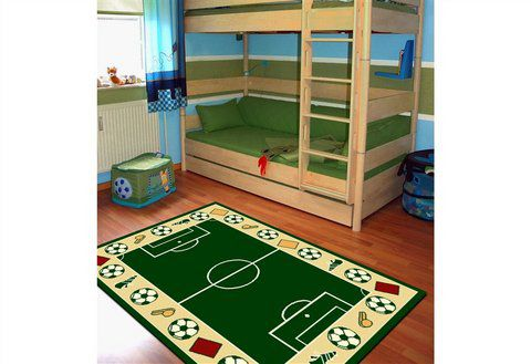 fussball teppich g nstig online kaufen beim schwab versand. Black Bedroom Furniture Sets. Home Design Ideas