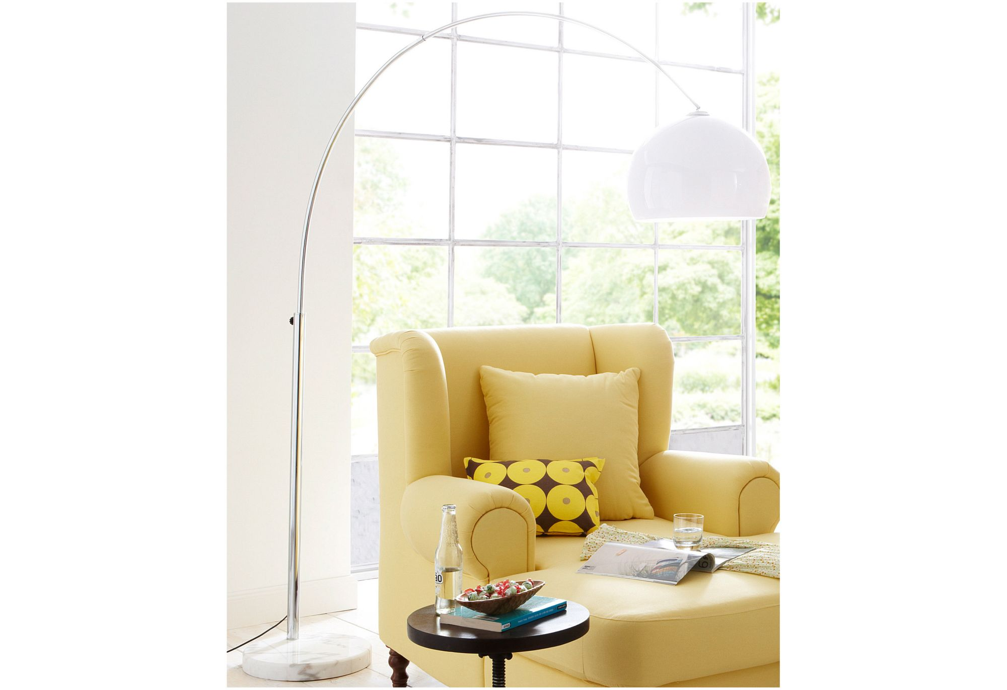 bogenlampen im schwab online shop m bel stehlampen. Black Bedroom Furniture Sets. Home Design Ideas