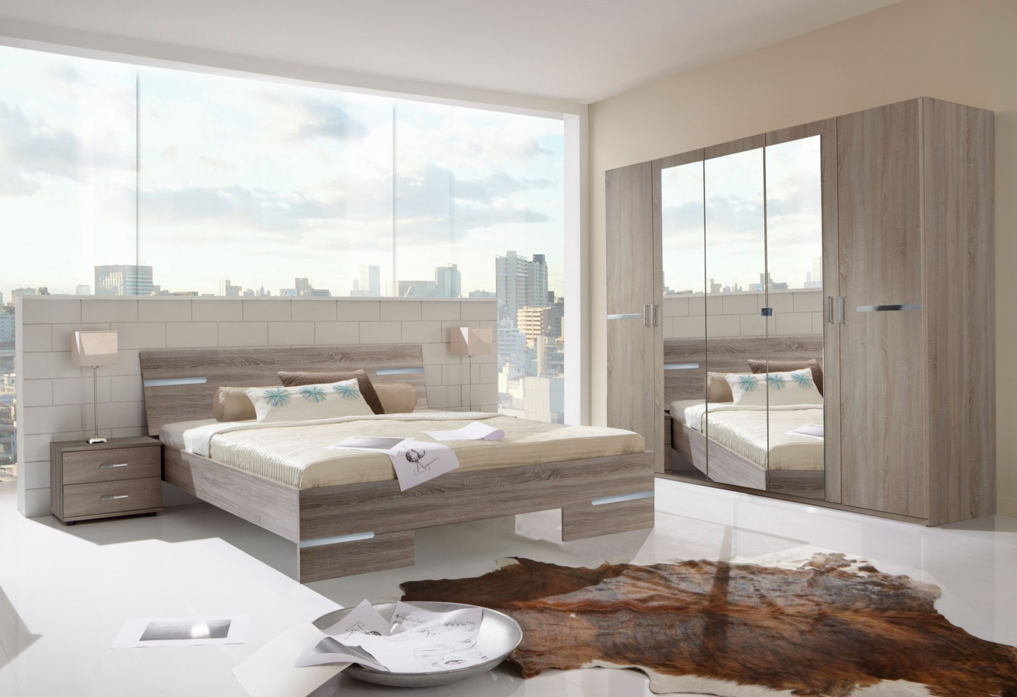 komplettschlafzimmer im schwab online shop m bel betten. Black Bedroom Furniture Sets. Home Design Ideas
