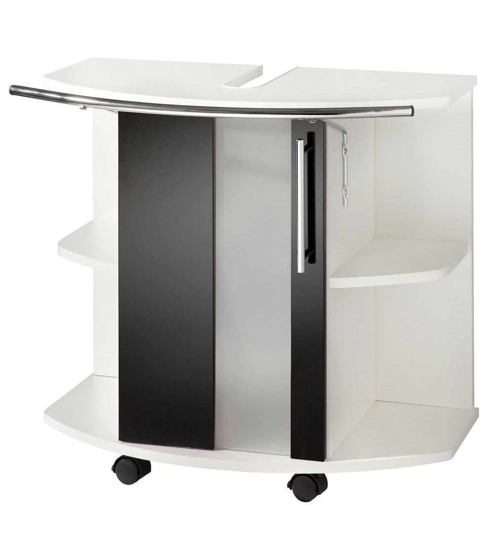 waschbeckenunterschrank schwarz g nstig online kaufen beim schwab versand. Black Bedroom Furniture Sets. Home Design Ideas
