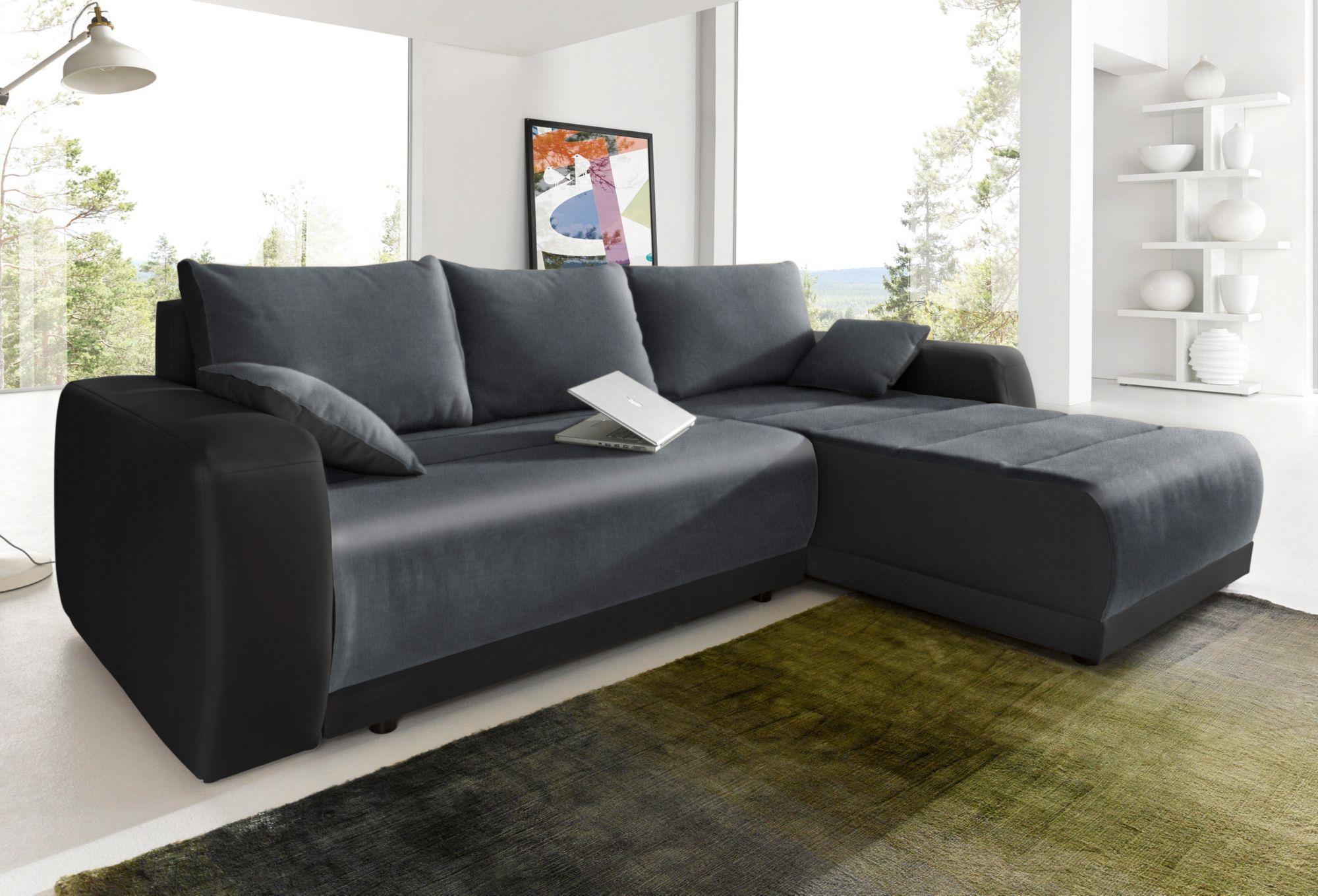 Polsterecke sit more wahlweise mit bettfunktion schwab versand sofas couches Sofa primabelle