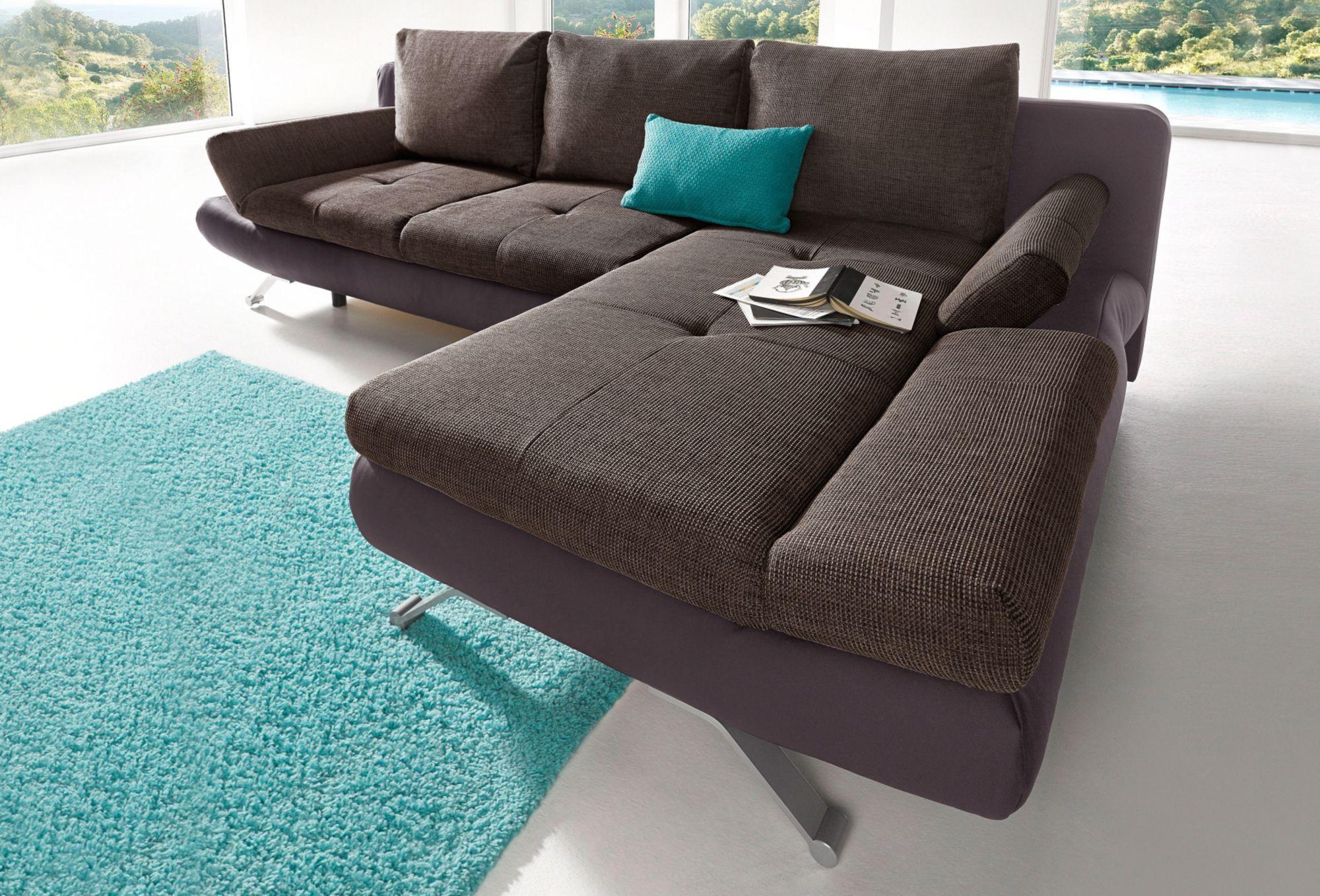 polsterecke sit more mit bettfunktion schwab versand ecksofas. Black Bedroom Furniture Sets. Home Design Ideas