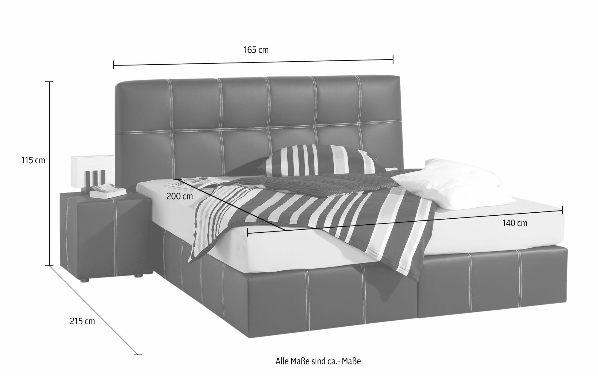 maintal boxspringbett schwab versand betten. Black Bedroom Furniture Sets. Home Design Ideas