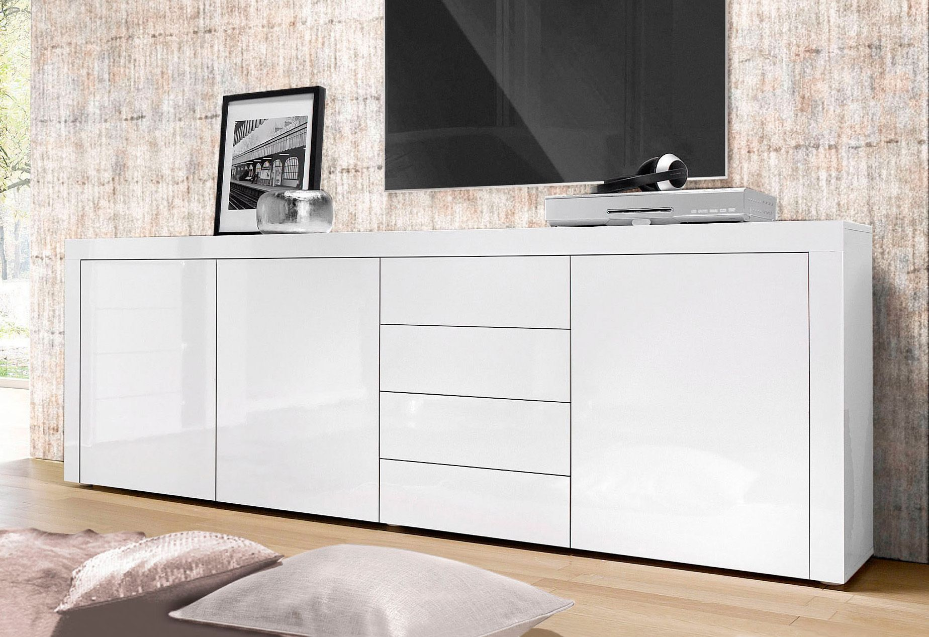 sideboard breite 201 cm schwab versand indian summer. Black Bedroom Furniture Sets. Home Design Ideas
