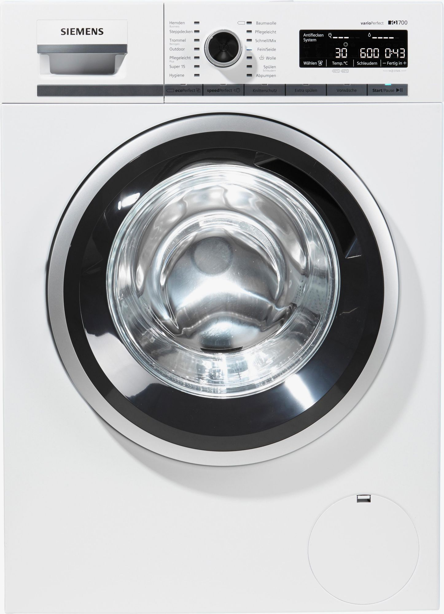 siemens waschmaschine wm16w540 a 8 kg 1600 u min. Black Bedroom Furniture Sets. Home Design Ideas
