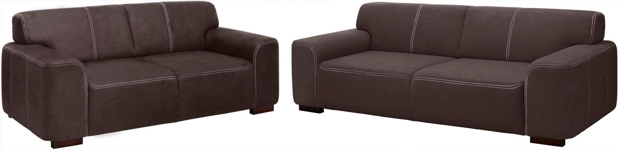 home affaire garnitur 2 tlg 2 sitzer und 3 sitzer. Black Bedroom Furniture Sets. Home Design Ideas