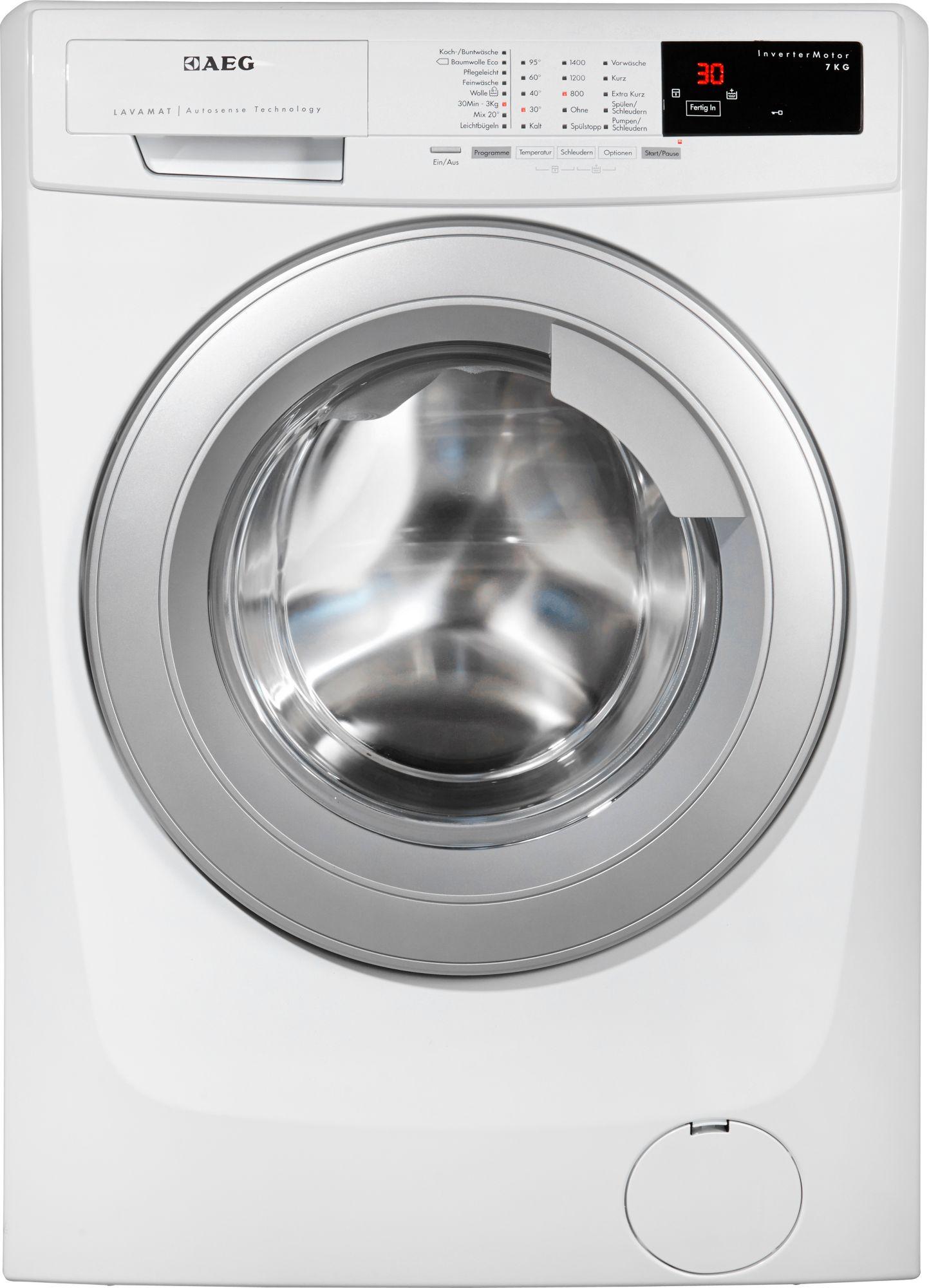 aeg waschmaschine lavamat l14as7 a 7 kg 1400 u min. Black Bedroom Furniture Sets. Home Design Ideas