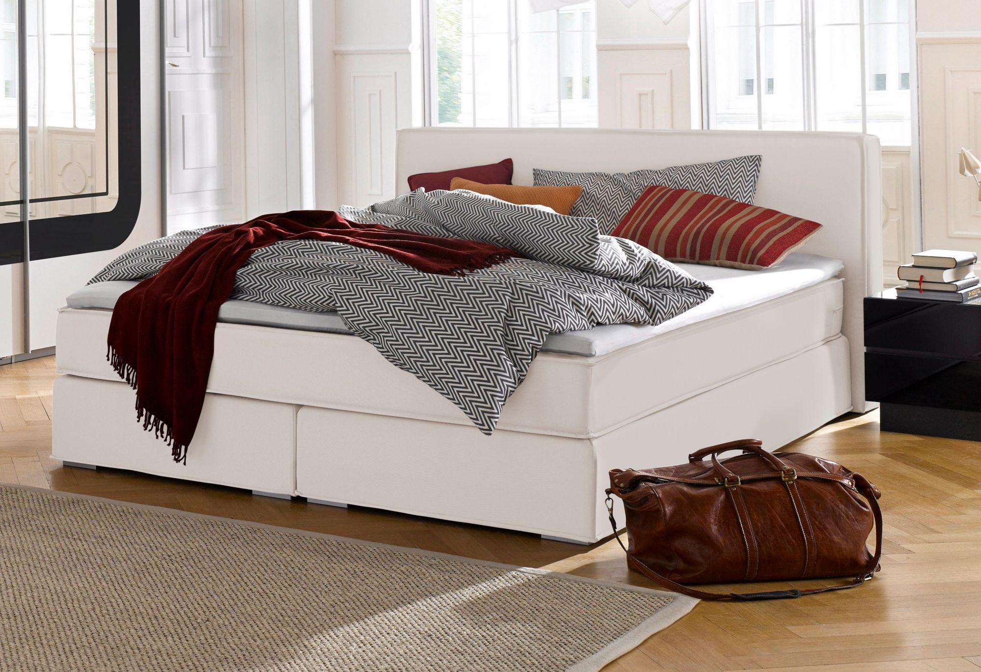 atlantic home collection boxspringbett schwab versand betten. Black Bedroom Furniture Sets. Home Design Ideas