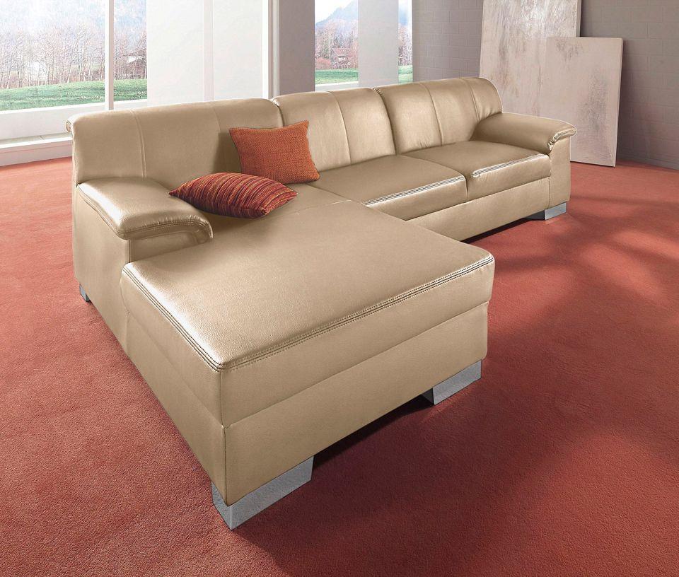 polsterecke schwab versand leder ecksofas. Black Bedroom Furniture Sets. Home Design Ideas