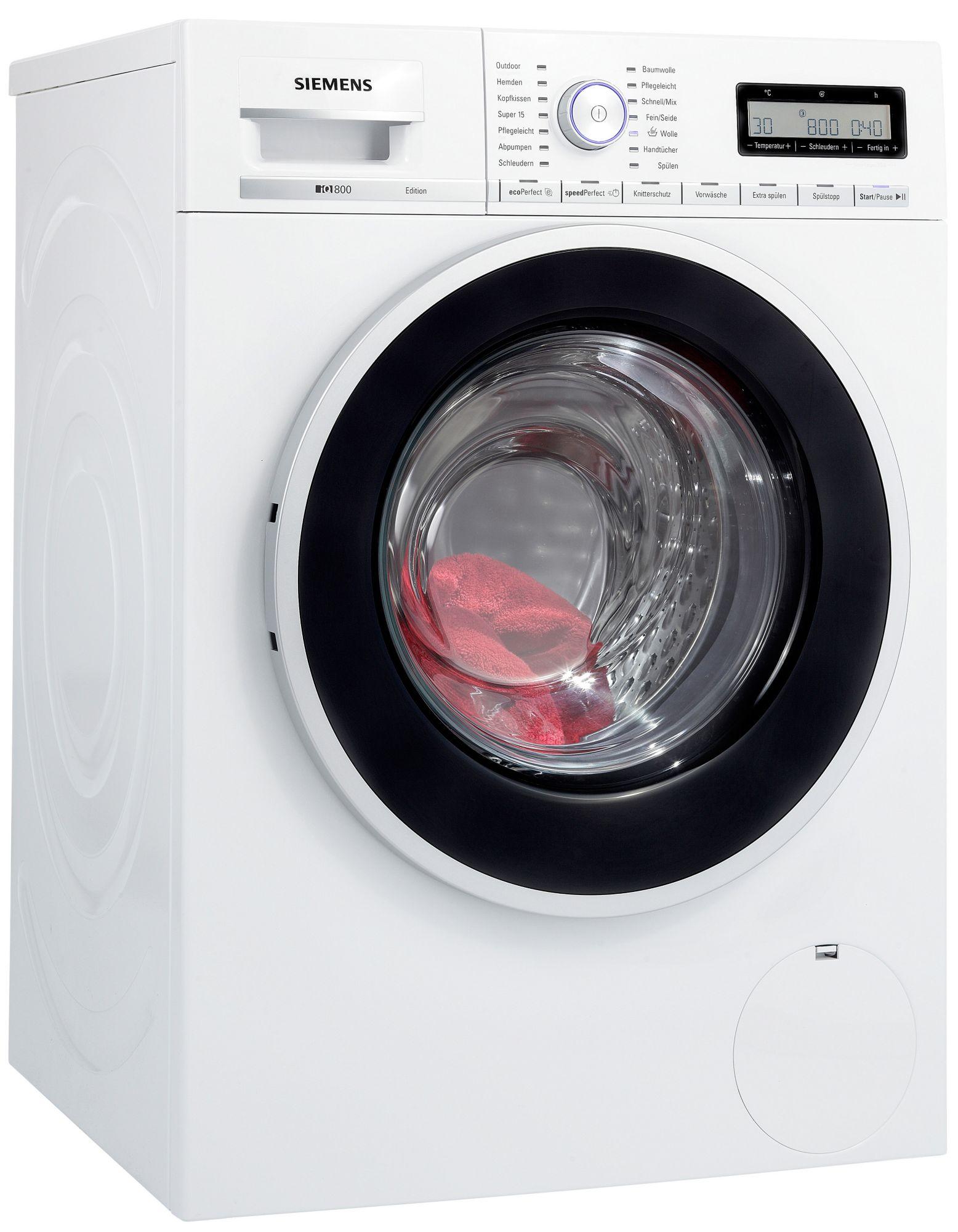 siemens waschmaschine wm14y54d a 8 kg 1400 u min. Black Bedroom Furniture Sets. Home Design Ideas