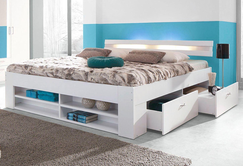 bett wahlweise mit rollrost und federkernmatratze schwab versand dreht renschr nke. Black Bedroom Furniture Sets. Home Design Ideas