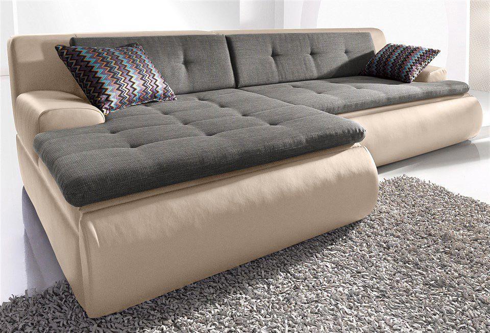 polsterecke wahlweise mit bettfunktion schwab versand polsterecken. Black Bedroom Furniture Sets. Home Design Ideas