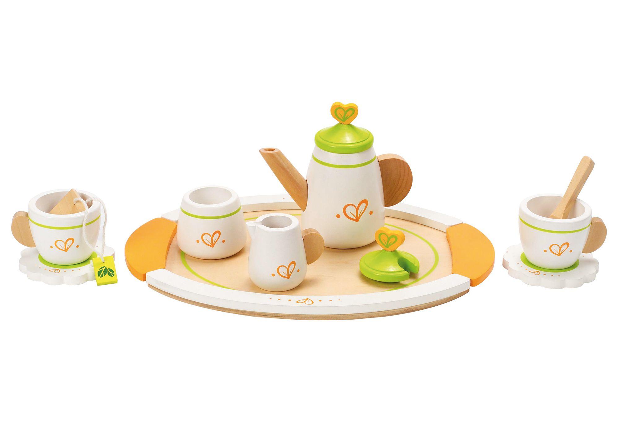 Hape Zubehör für die Kinderküche Teeservice für zwei 12-tlg.