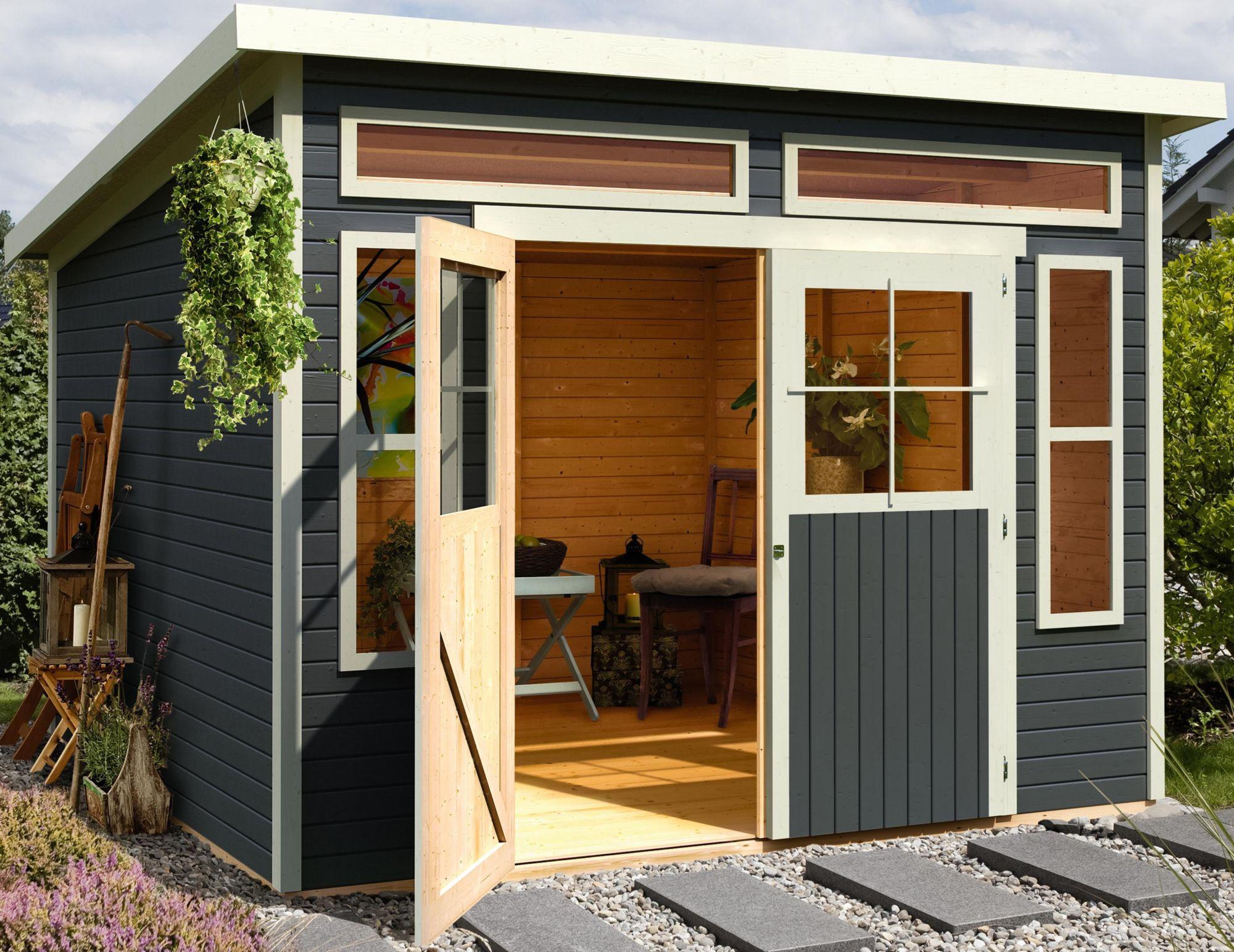 system gartenhaus 19 mm wandst rke 7 4 m schwab. Black Bedroom Furniture Sets. Home Design Ideas
