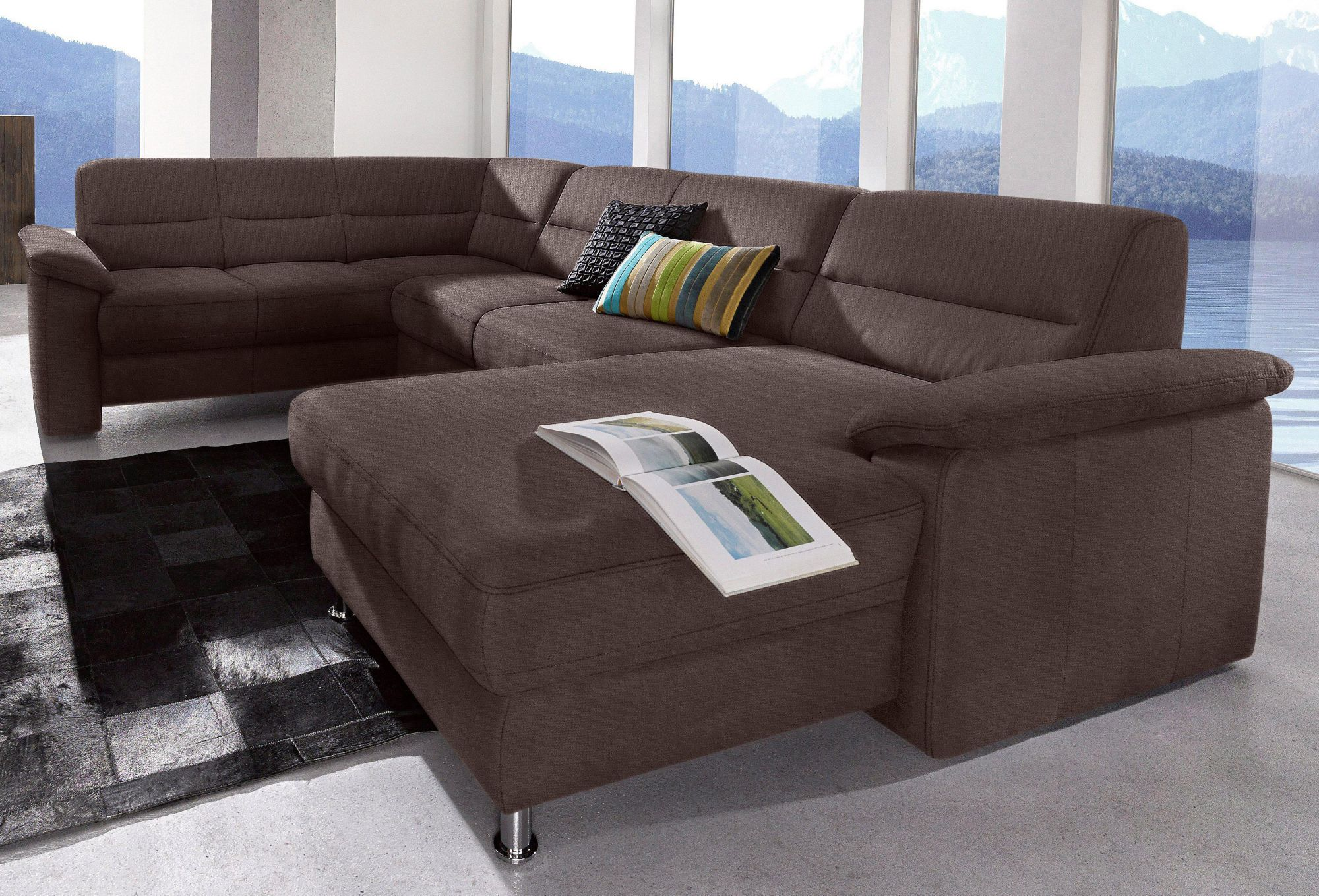 wohnlandschaft sit more inklusive boxspring polsterung schwab versand sofas couches. Black Bedroom Furniture Sets. Home Design Ideas