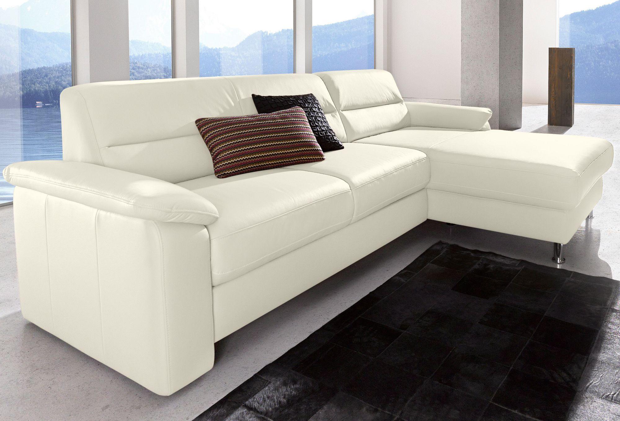 polsterecke sit more inklusive boxspring polsterung schwab versand leder ecksofas. Black Bedroom Furniture Sets. Home Design Ideas