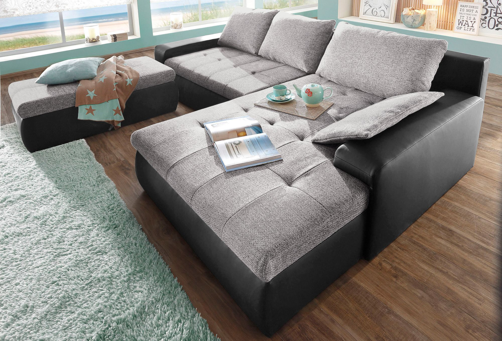 polsterecke sit more wahlweise in xl oder xxl schwab versand xxl sofas. Black Bedroom Furniture Sets. Home Design Ideas