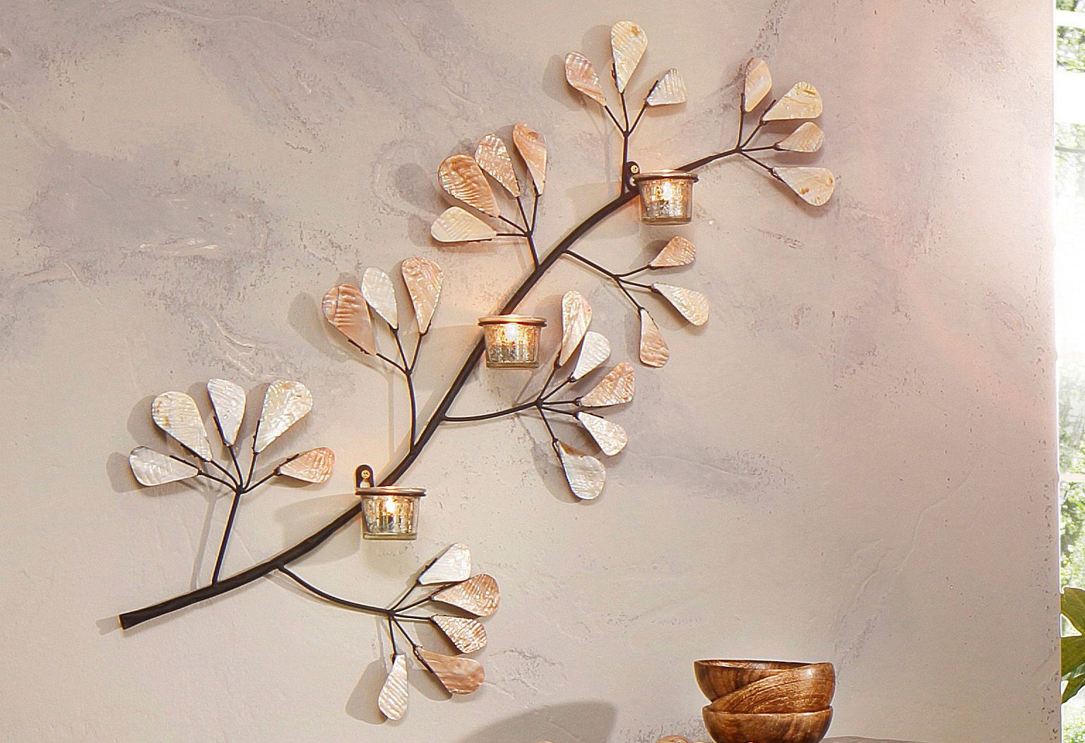 wanddekoration home affaire schwab versand. Black Bedroom Furniture Sets. Home Design Ideas
