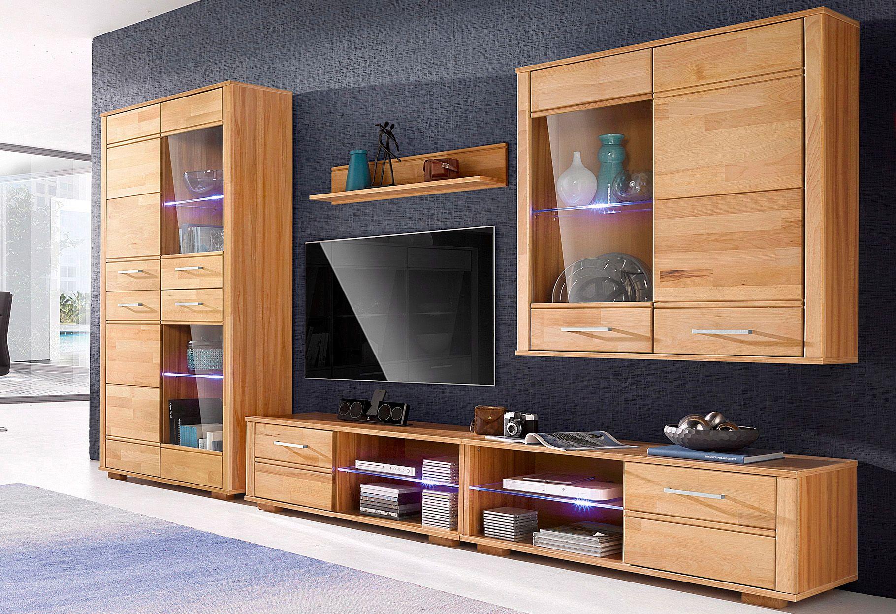 Wohnwand 5 tlg schwab versand wohnm bel for Wohnwand mit aufbauservice