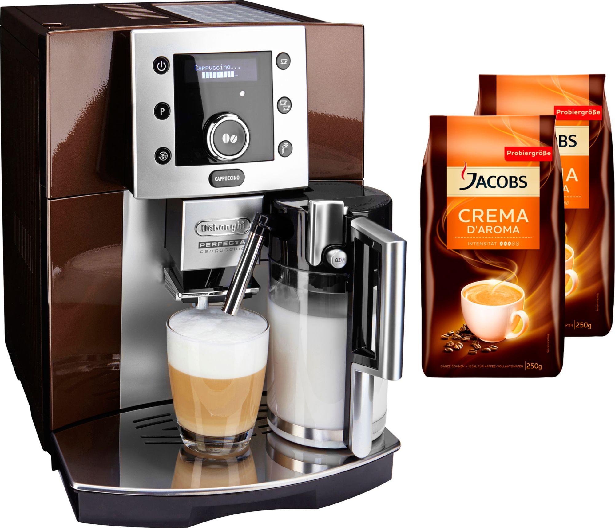 de longhi kaffeevollautomat perfecta esam 5550 schwab versand kaffeevollautomaten. Black Bedroom Furniture Sets. Home Design Ideas