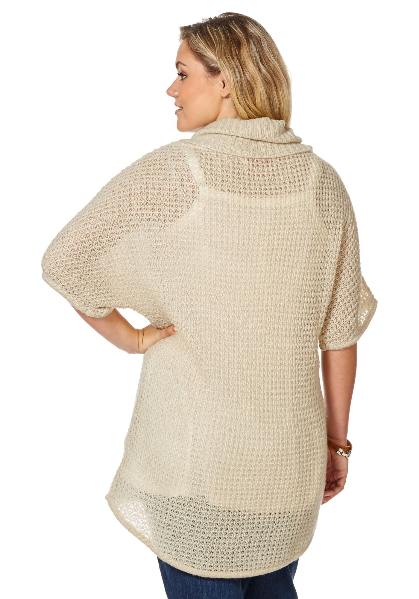 Пуловер С Горлом
