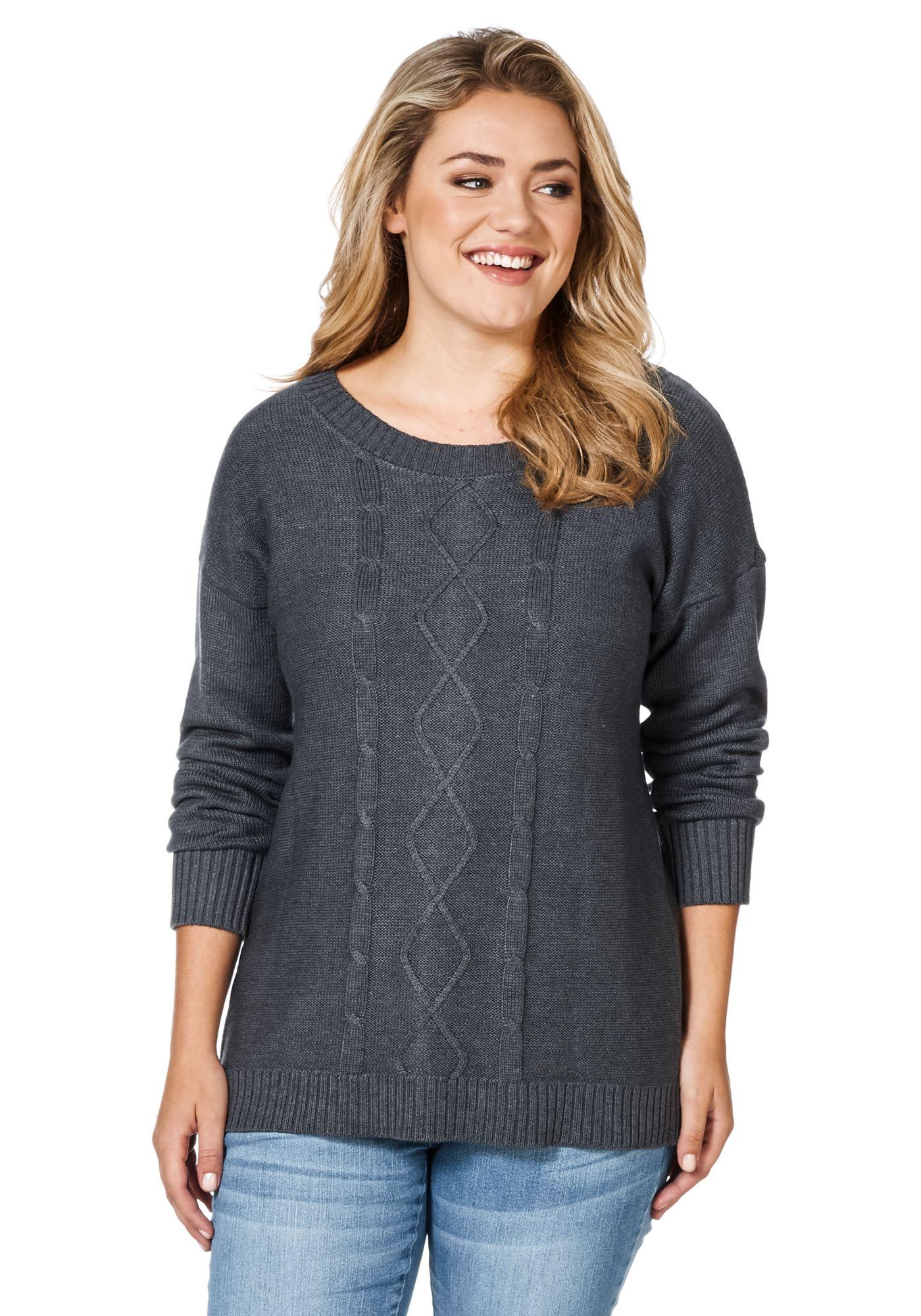 Фиоосеньвый Пуловер