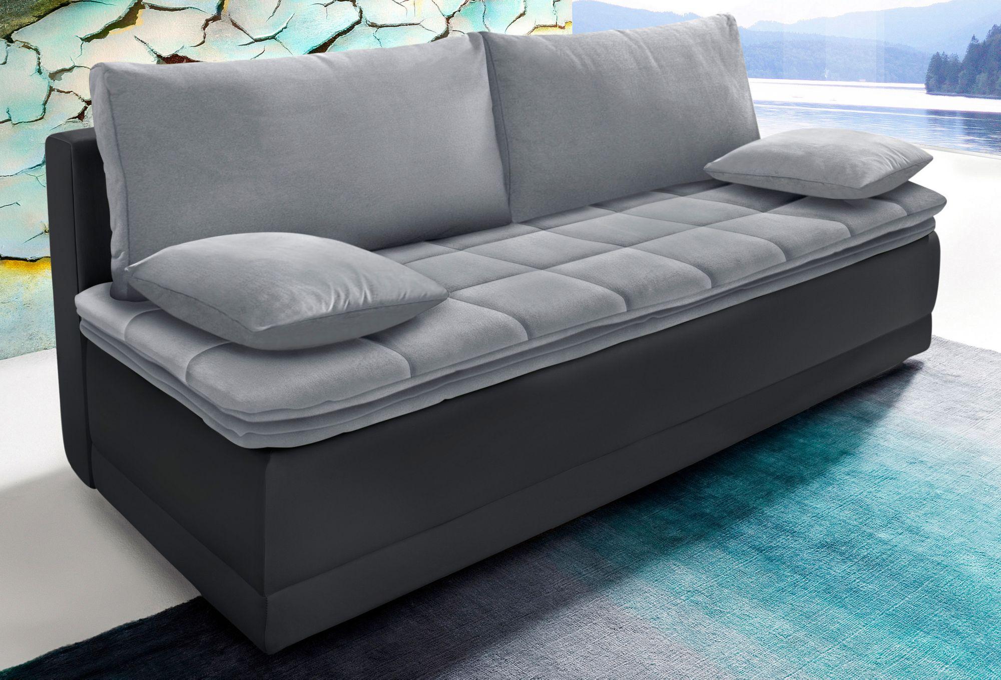 schlafsofa mit boxspringunterfederung schwab versand sofas couches. Black Bedroom Furniture Sets. Home Design Ideas