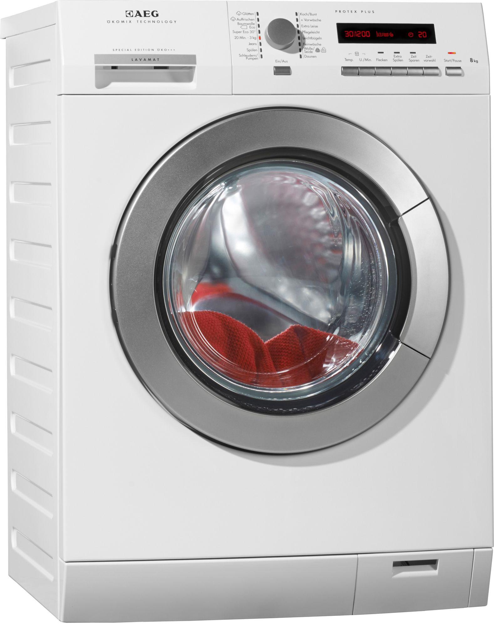 aeg waschmaschine lavamat l ko fl a 8 kg 1400 u. Black Bedroom Furniture Sets. Home Design Ideas