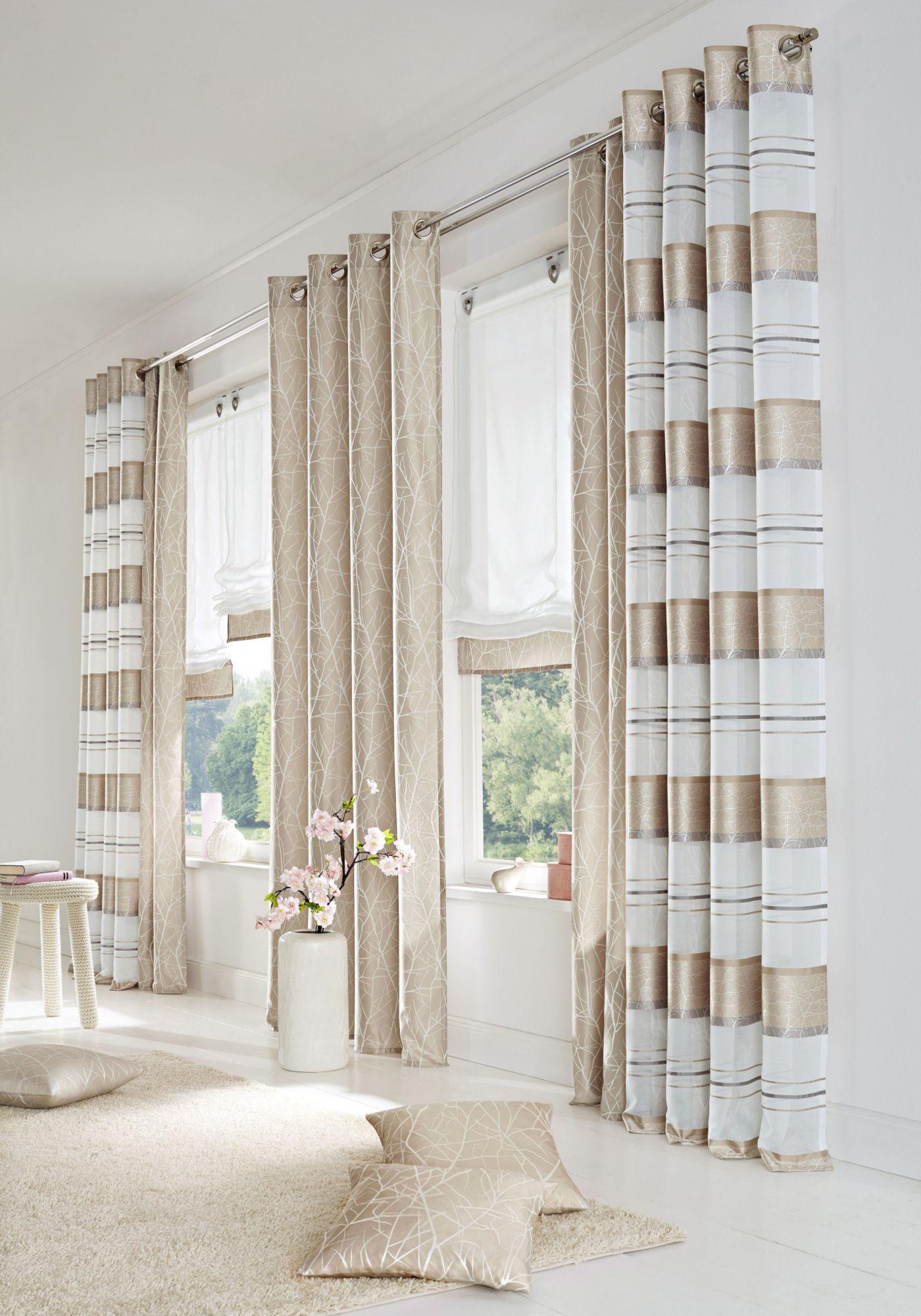 vorhang home wohnideen campos 2 st ck schwab versand sets. Black Bedroom Furniture Sets. Home Design Ideas