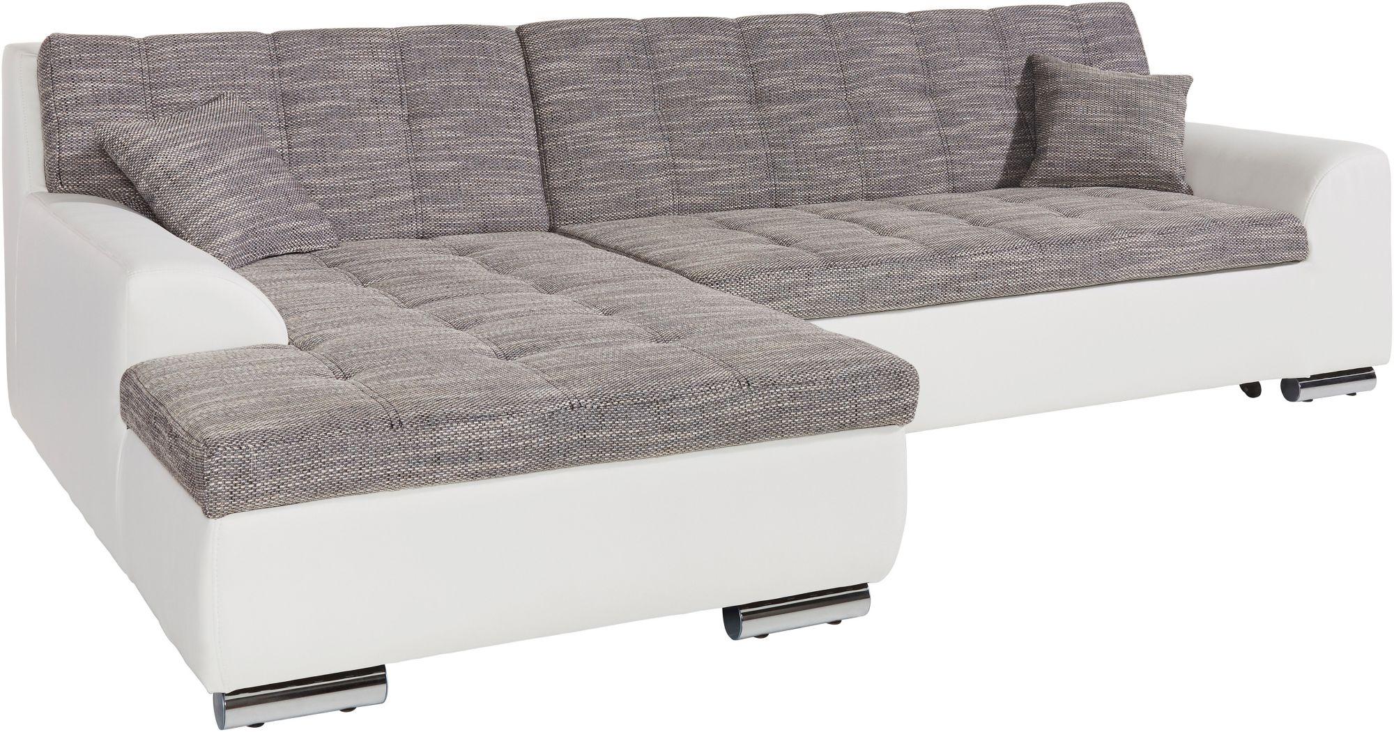 xxl polsterecke wahlweise mit bettfunktion schwab versand polsterm bel. Black Bedroom Furniture Sets. Home Design Ideas