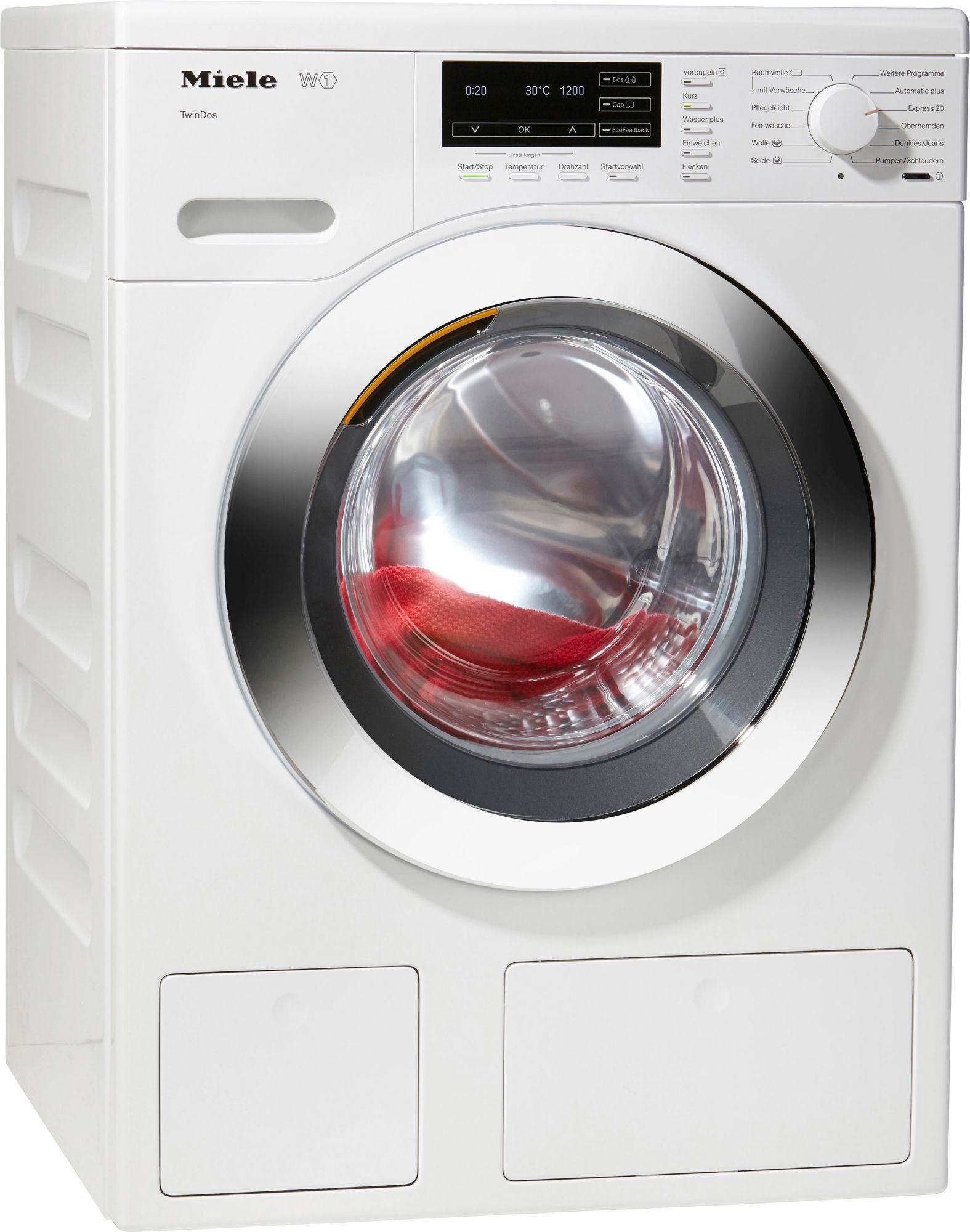 miele waschmaschine wkg 120 wps a 8 kg 1600 u min. Black Bedroom Furniture Sets. Home Design Ideas