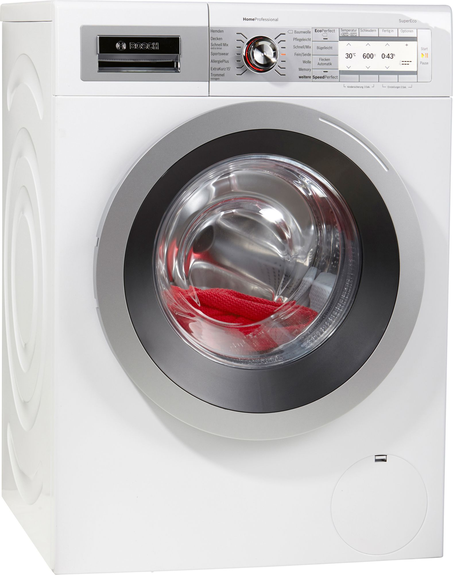 bosch waschmaschine way287w4 a 8 kg 1400 u min. Black Bedroom Furniture Sets. Home Design Ideas