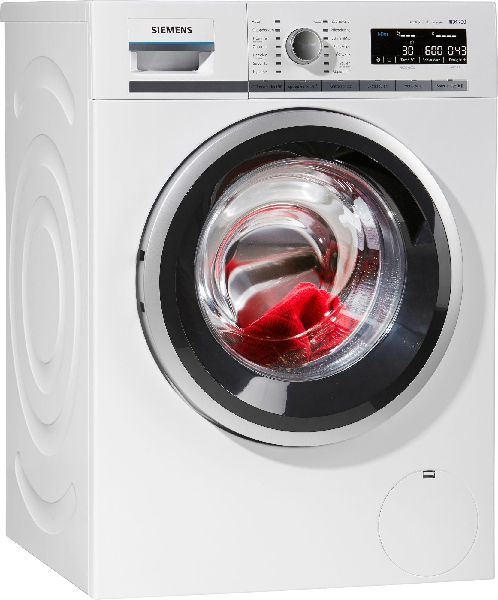 siemens waschmaschine wm14w640 i dos a 8 kg 1400 u min schwab versand eco haushalt. Black Bedroom Furniture Sets. Home Design Ideas