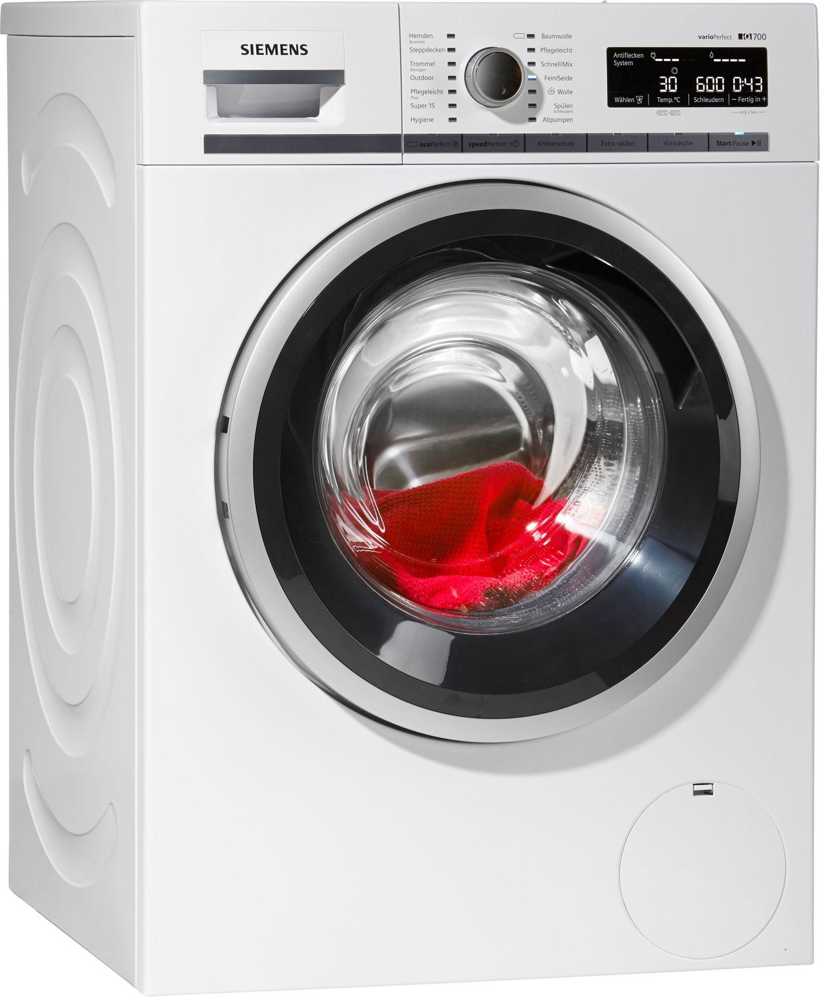 siemens waschmaschine wm14w540 a 8 kg 1400 u min. Black Bedroom Furniture Sets. Home Design Ideas