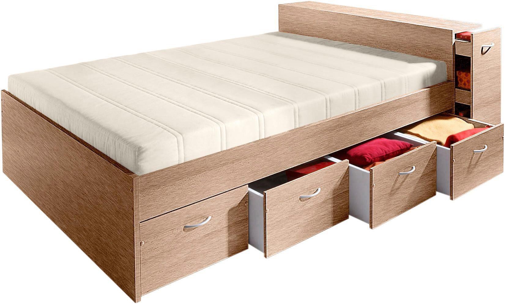 stauraumbett schwab versand futonbetten. Black Bedroom Furniture Sets. Home Design Ideas