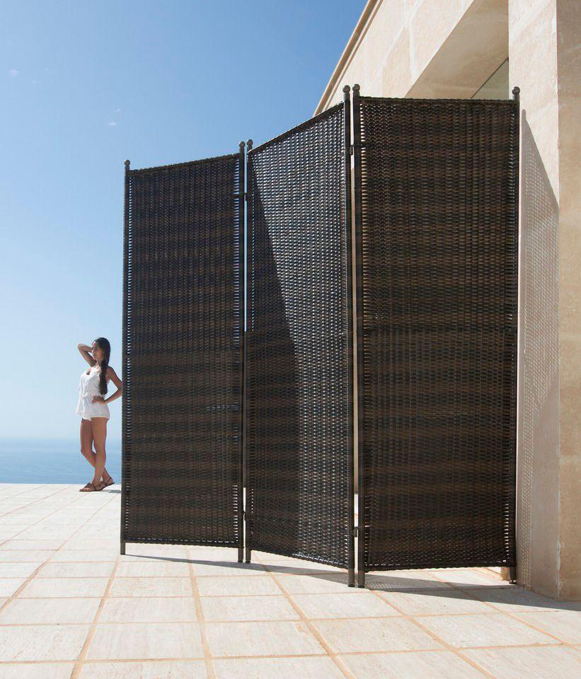Sichtschutz Terrasse Polyrattan Kreative Ideen über Home Design