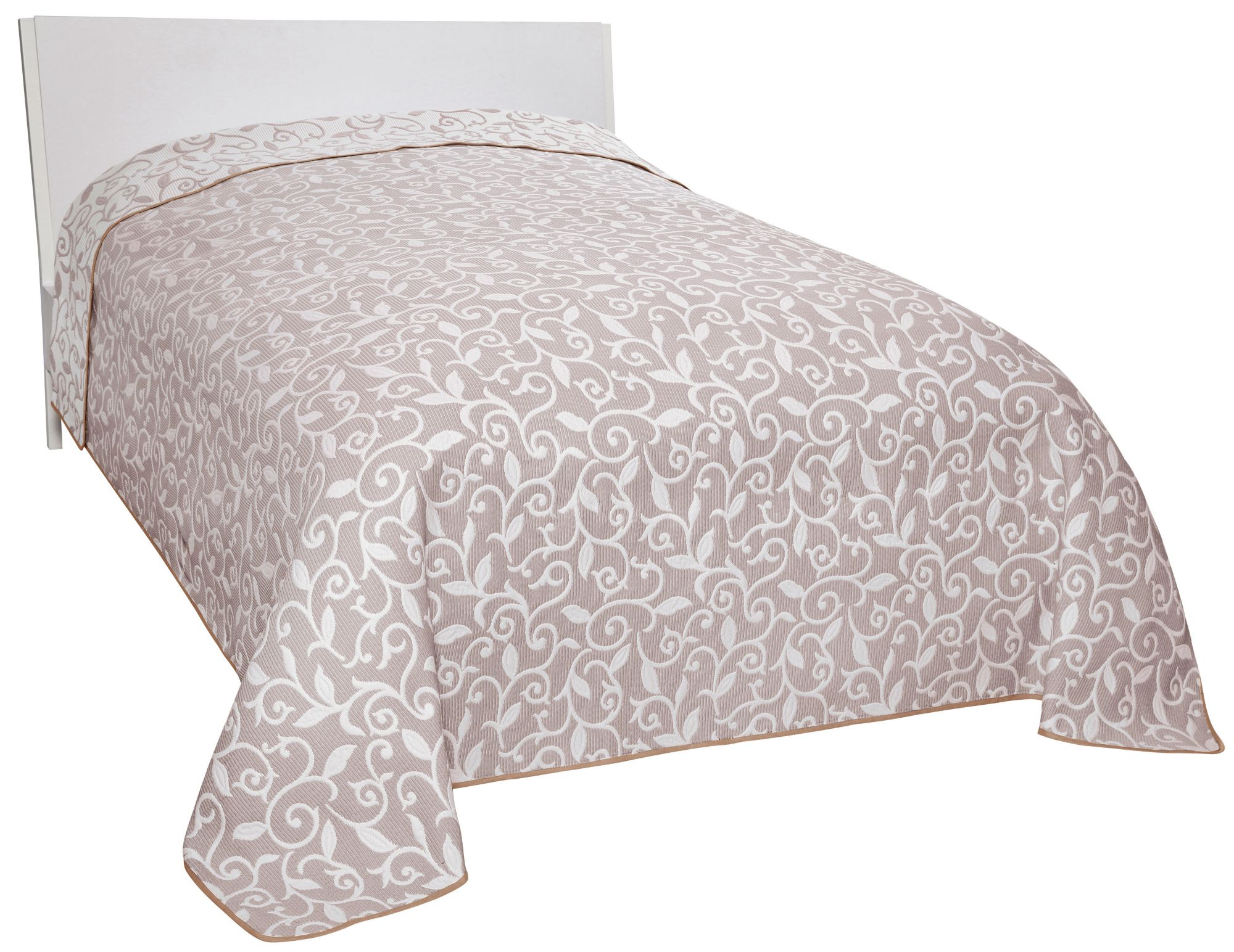 Tagesdecke dohle menk conny mit blumenranken for Tagesdecke paisley